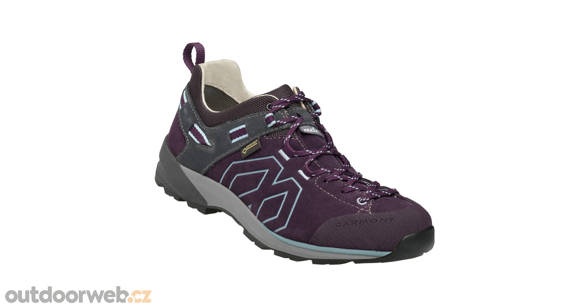 SANTIAGO LOW GTX W dark purple light blue - GARMONT - dámské - turistická  obuv 6190845db3