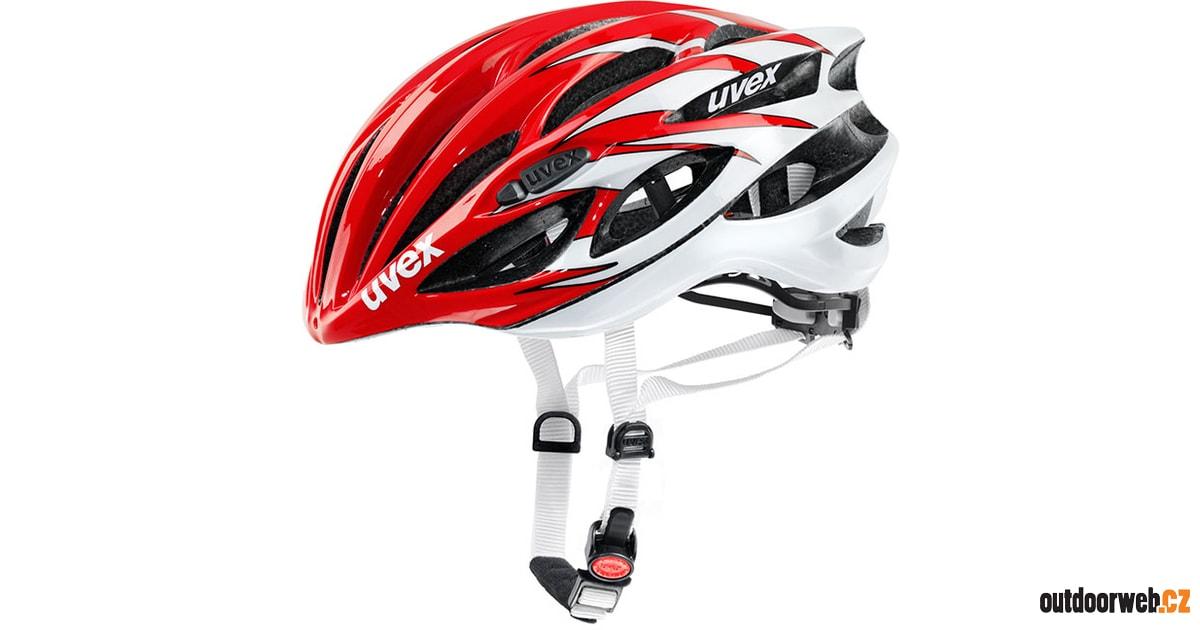 RACE 1 red white 2015 - UVEX - Cyklistické přilby - cyklistika - 2 969 Kč 1e961fb6dbb