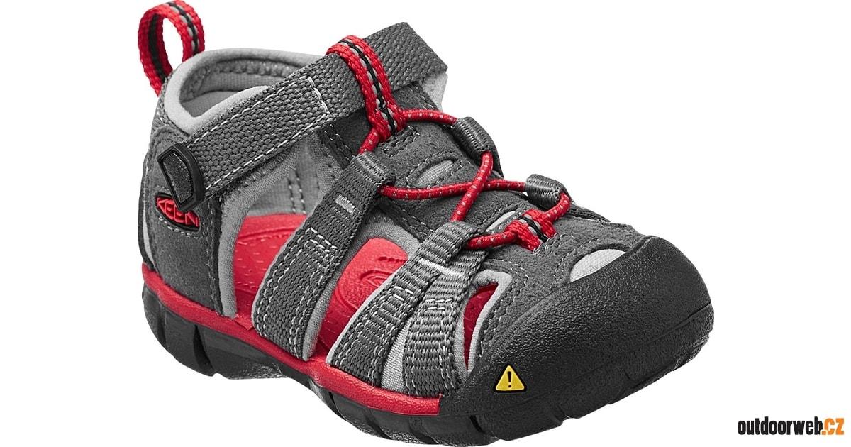 Seacamp II CNX INF magnet racing red - KEEN - dětské sandály - turistické  sandály e4230e5d00