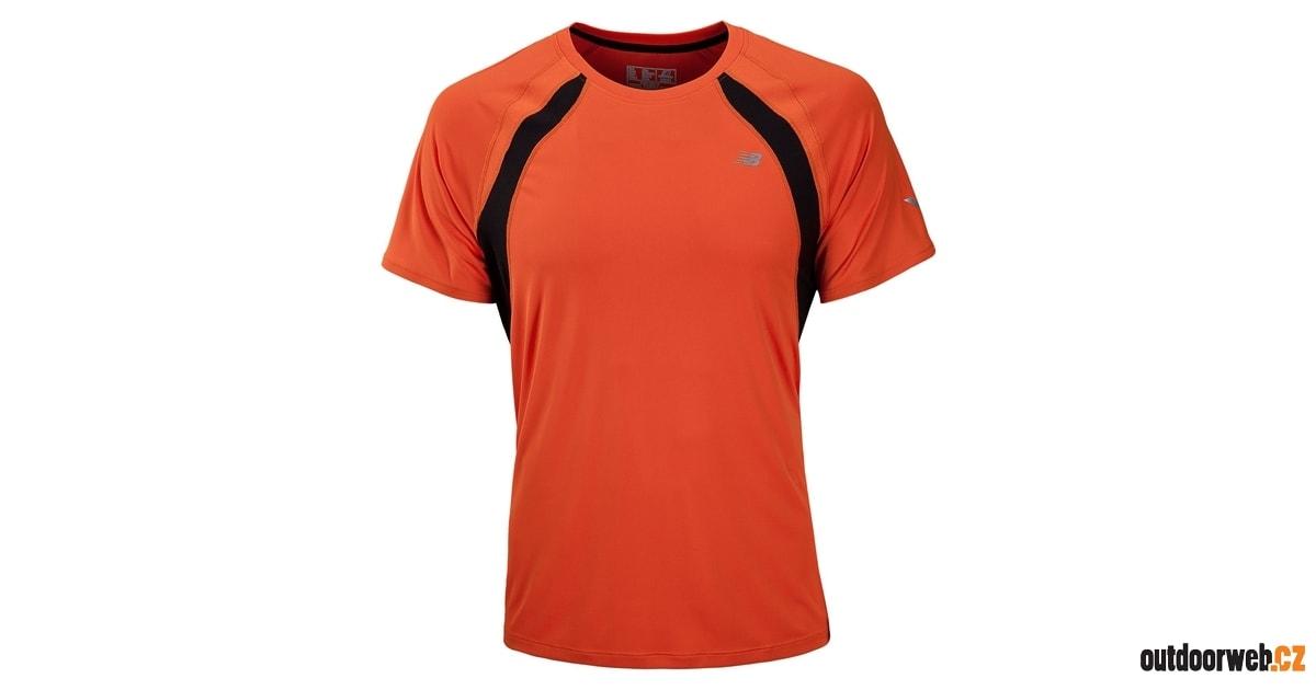 MRT2116CHT - běžecké tričko - NEW BALANCE - pánská - trika 8f5213b3cc