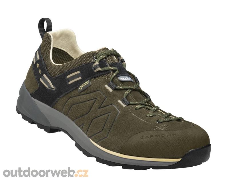 SANTIAGO LOW GTX M olive green beige - GARMONT - pánské - turistická obuv 6774ffdf561