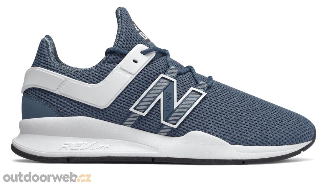 47c4dca1f28 MS247DEC modrá - NEW BALANCE - pánské - tenisky