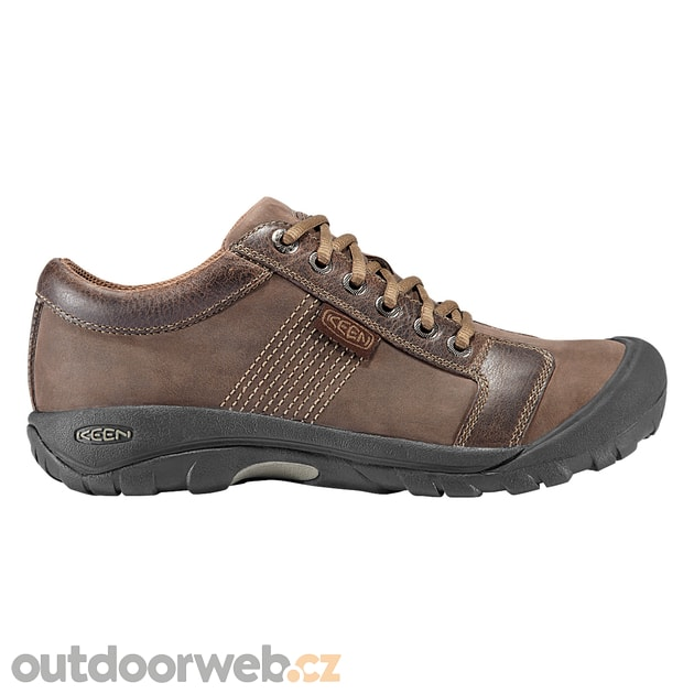 85102e38430 Austin M chocolate brown - KEEN - pánské - městské boty