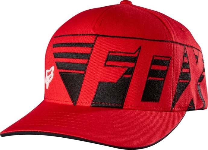 Destro Flexfit Flame Red - kšiltovka