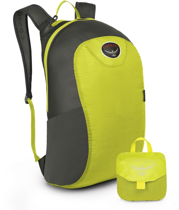 ULTRALIGHT STUFF PACK electric lime 18l - batoh