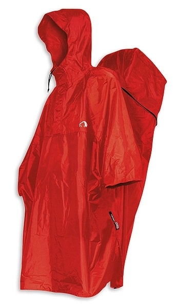 Cape Men XS, red - pláštěnka