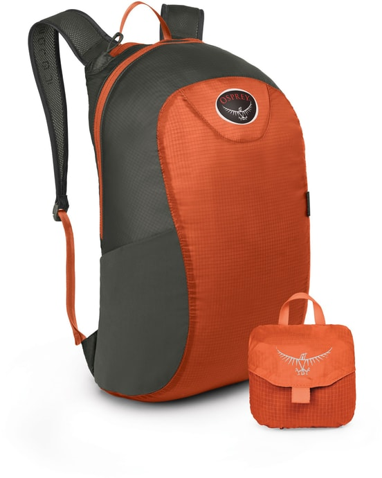 ULTRALIGHT STUFF PACK poppy orange Oranžový batoh 18l
