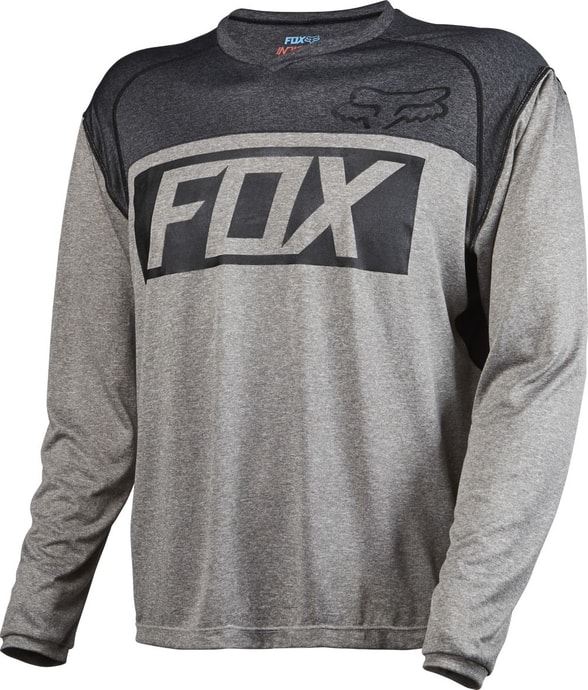 Indicator L/S Jersey Heather Graphite - cyklistický dres