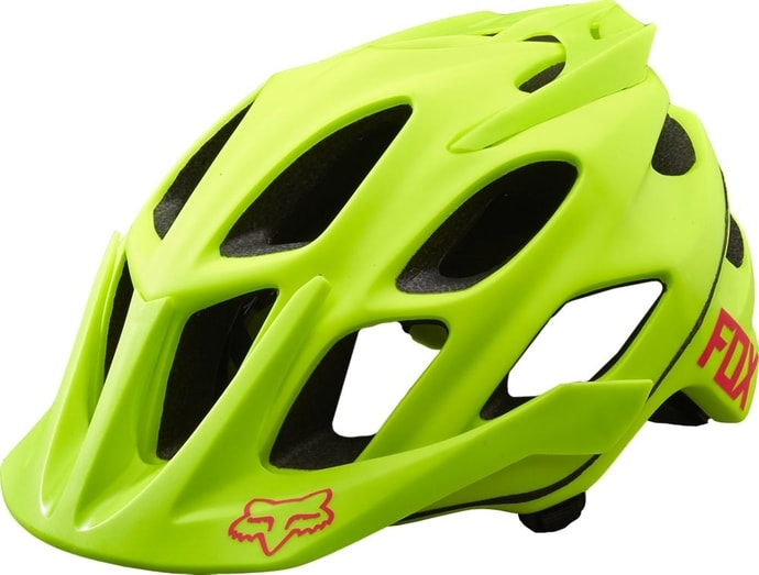 15940-130 FLUX OPTIK Flo Yellow - cyklistická helma