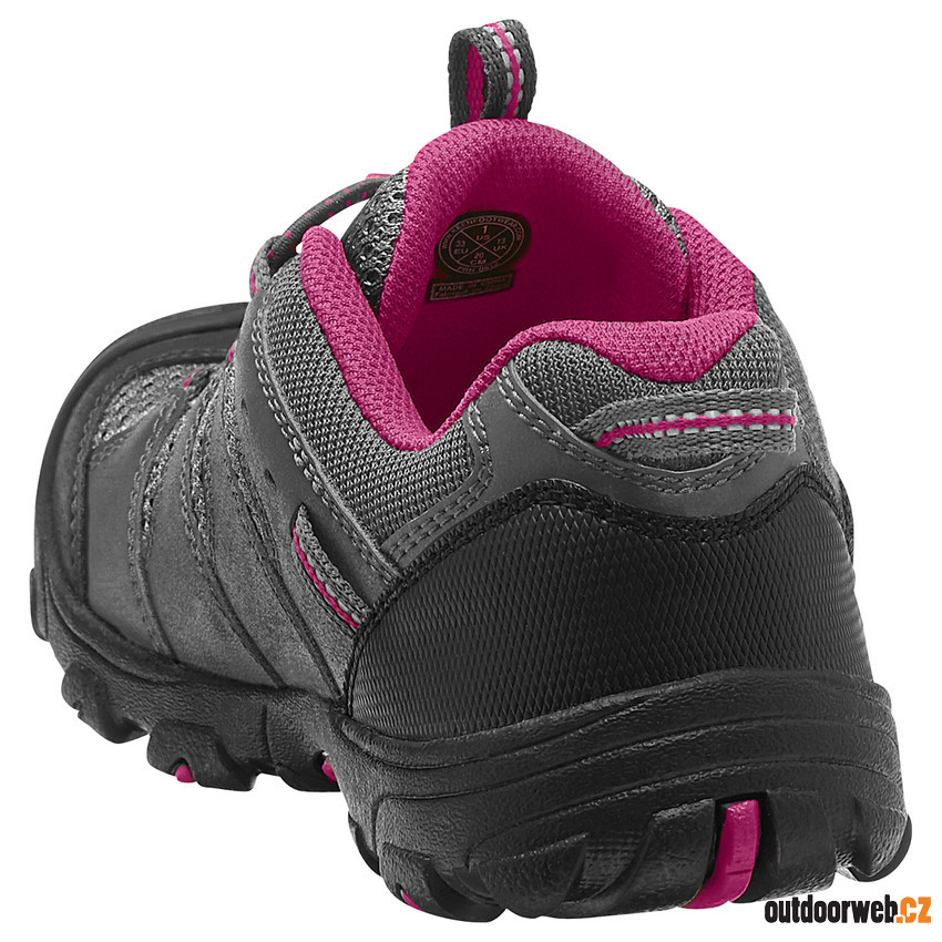 Koven Low WP JR magnet/cerise - juniorská outdoor obuv