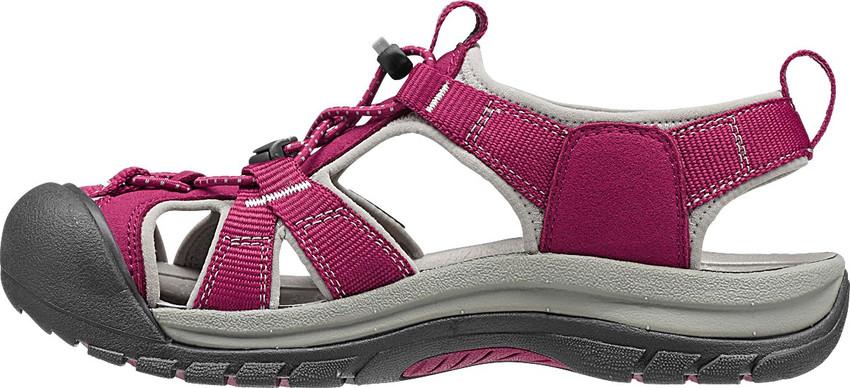 e2edc68cd90 Venice H2 W red gray - KEEN - dámské sandály - turistické sandály ...