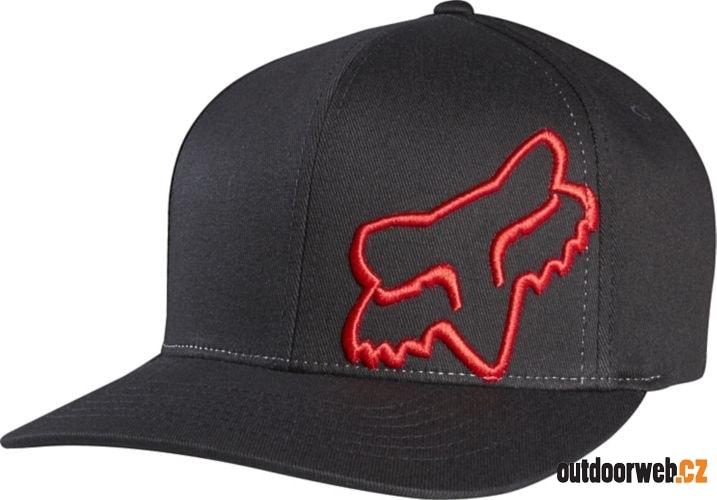 Flex 45 Flexfit Hat Black Red - FOX - skate kšiltovky - Skate - 559 Kč 30fc3b6c4c