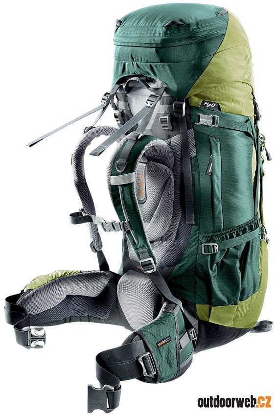 da750d01f33 Aircontact 65 + 10 forest-moss - turistický batoh - DEUTER ...