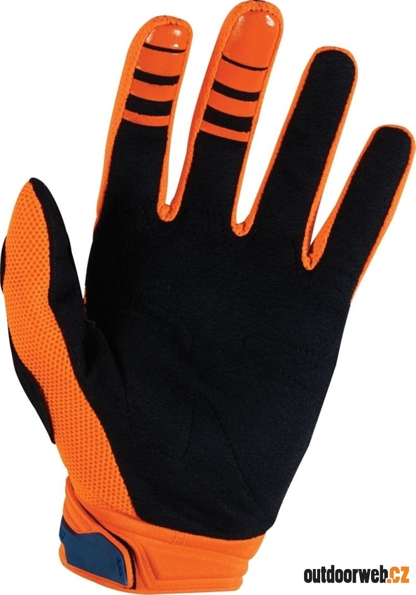 14999-592 DIRTPAW RACE Orange/Blue - MX Rukavice
