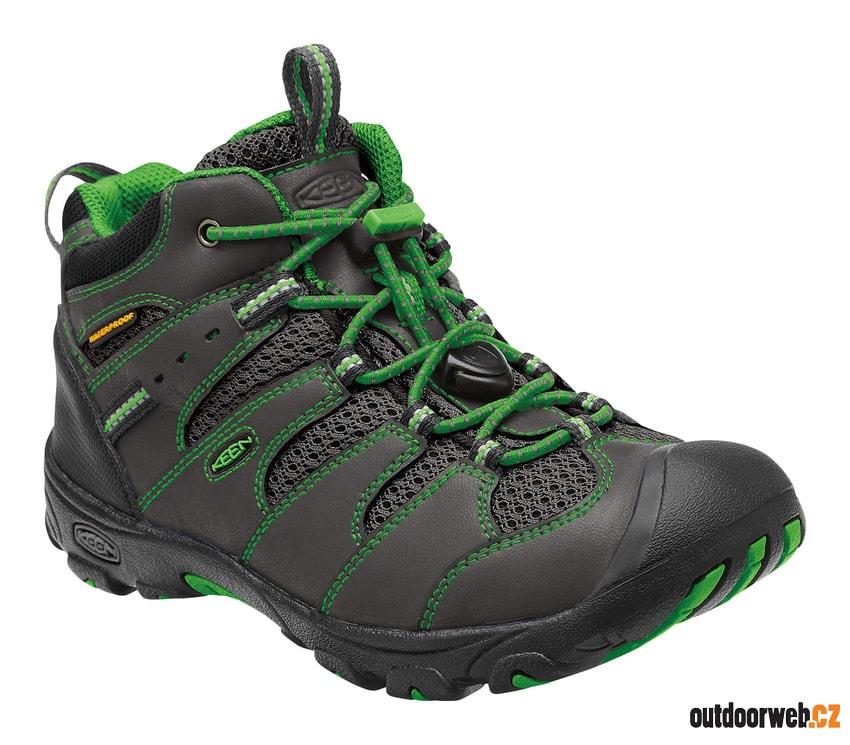 1a0a7faa010 KOVEN MID WP K raven green - dětská outdoorová obuv - KEEN - dětské ...