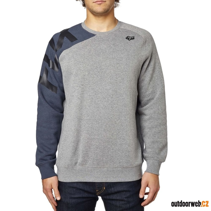 Race Crew Fleece Heather Graphite - mikina