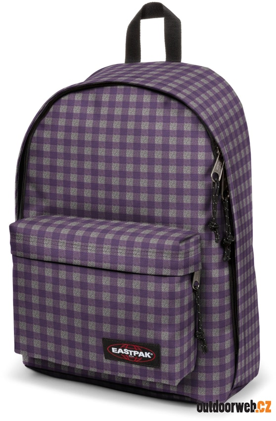 Out Of Office Checksange Purple 27 l - městský batoh