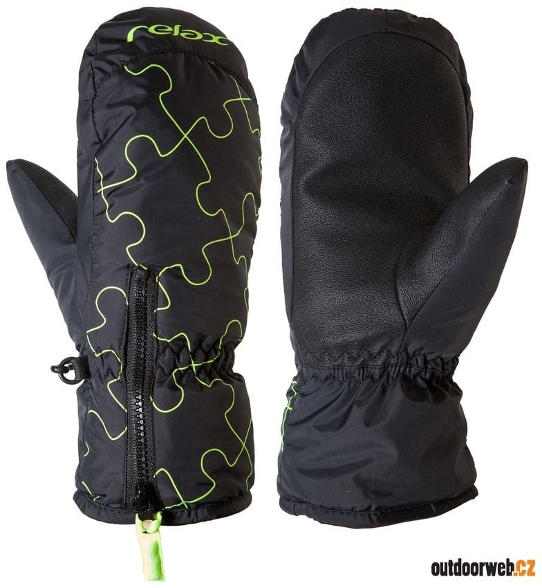 ed19463c4c3 RR17A PUZZYTO - dětské zimní rukavice - RELAX - lyžařské rukavice ...