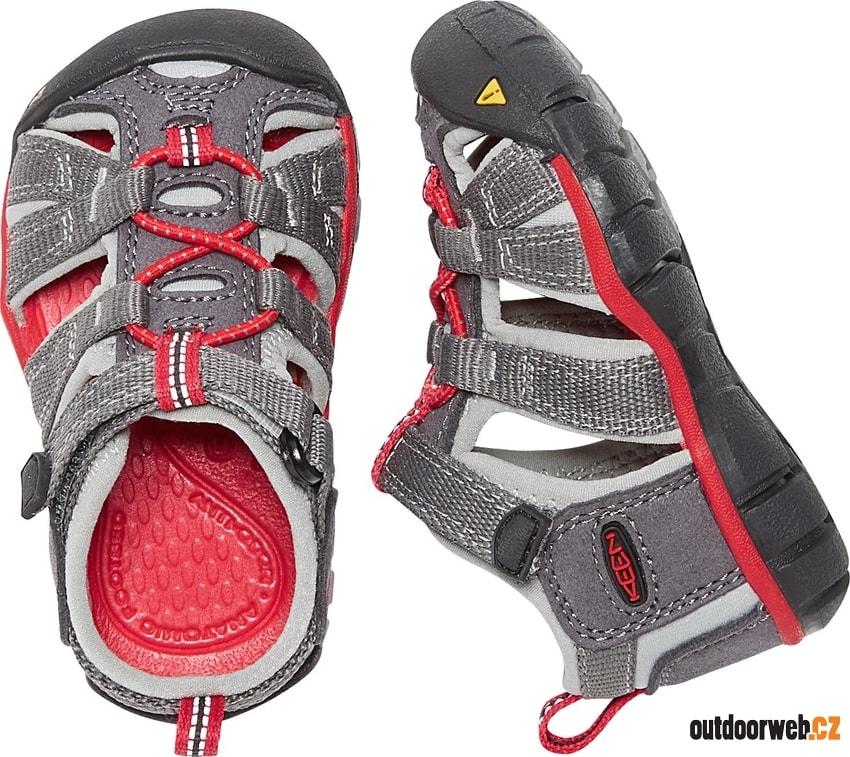 Seacamp II CNX INF magnet racing red - KEEN - dětské sandály ... ef39405337