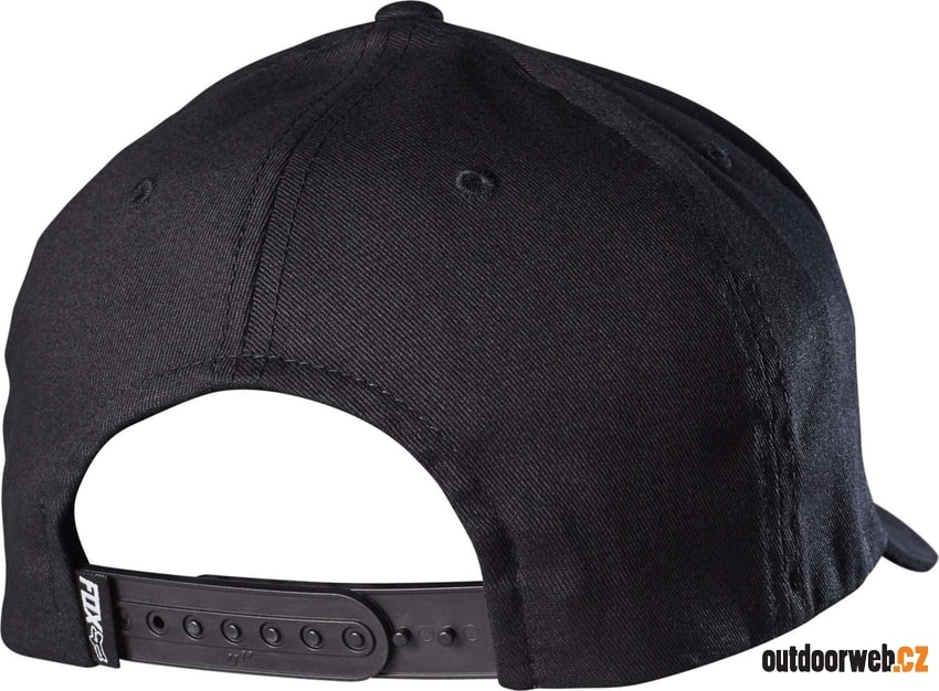 Emergency 110 Snapback, black/blue