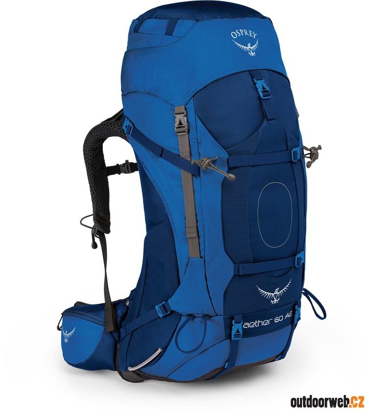 AETHER AG 60 neptune blue - OSPREY - turistické - batohy - 4 289 Kč 9b71e2df2e