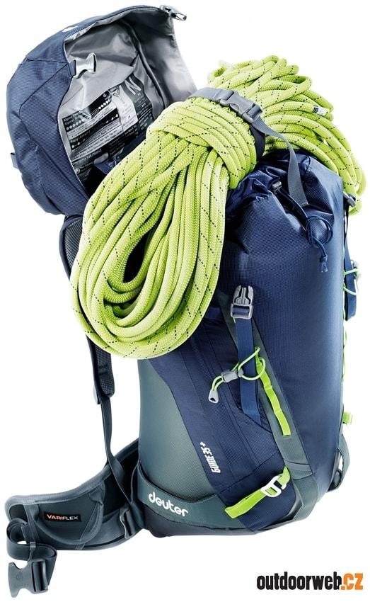 Guide 30+ SL navy-granite - DEUTER - batohy - horolezecké vybavení ... 832627a27c