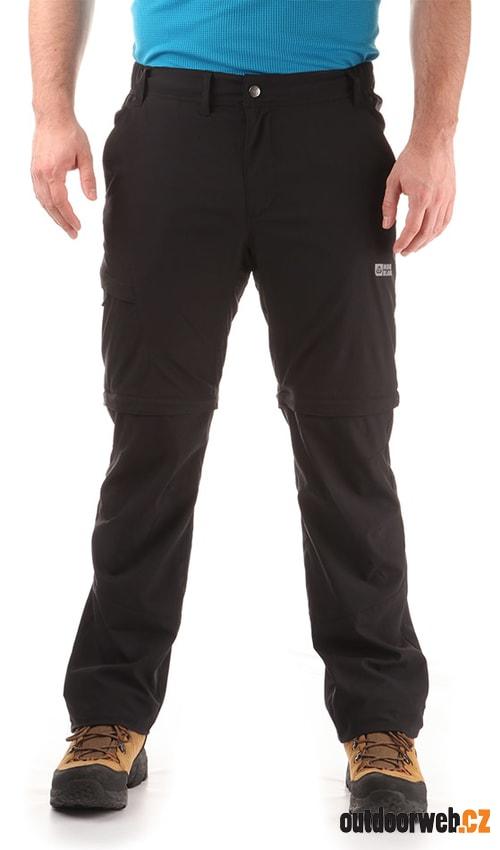 NORDBLANC NBSPM6122 TRICK 2 v 1 crystal černá - Pánské outdoorové kalhoty 62ef1967a3