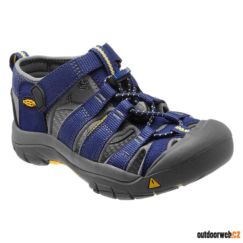 Newport H2 Jr blue depths gargoyle - KEEN - dětské sandály ... 292198dad0d