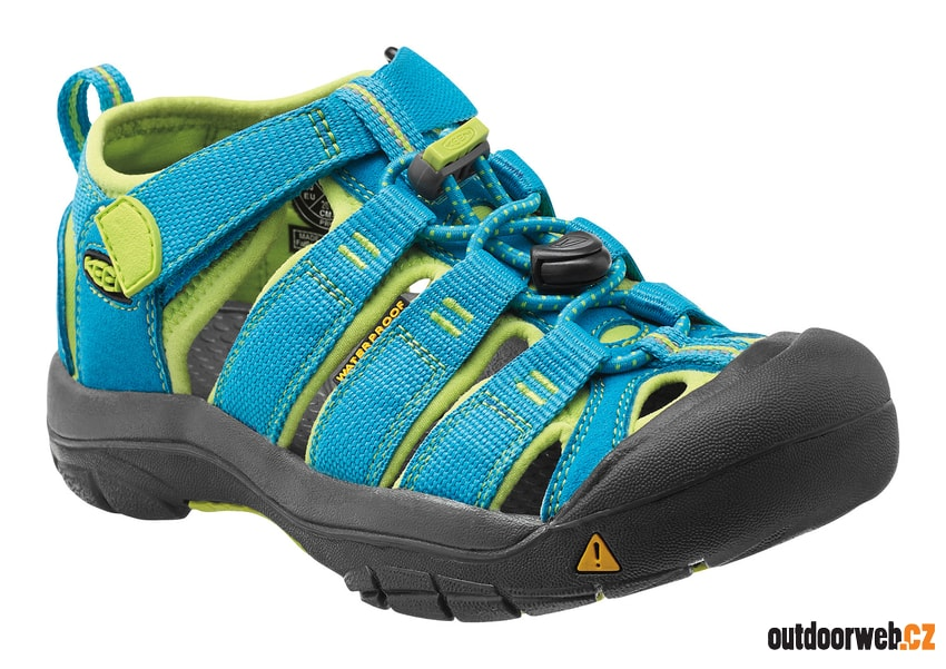 Newport H2 Jr hawaiian blue green glow - KEEN - dětské sandály ... 5be66ba0c6e