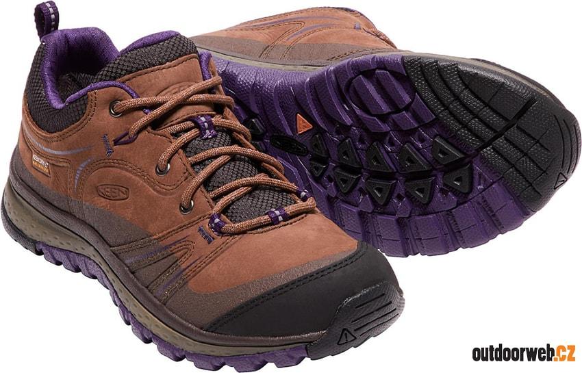 KEEN TERRADORA LEATHER WP W scotch mulch - turistické boty. doprava zdarma  ... c862975540