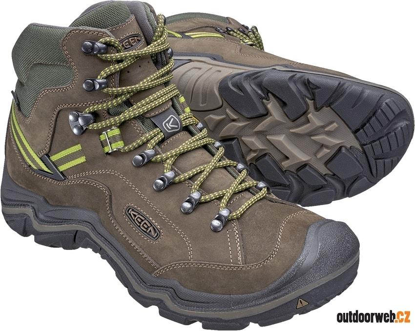 GALLEO MID WP M black greenery - KEEN - pánské - turistická obuv ... 0db05f39bb