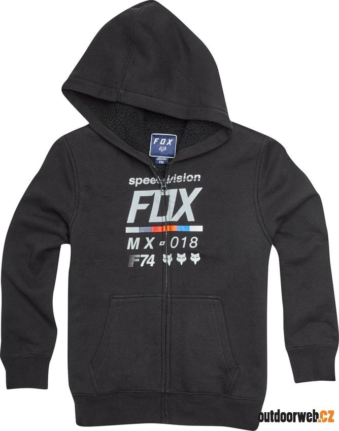8189ebf50e Youth Draftr Sherpa Zip Fleece Black - FOX - dětské - mikiny - 1 049 Kč