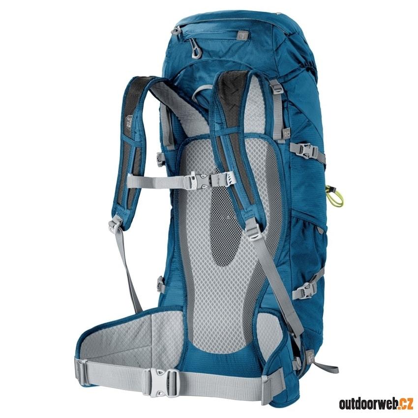 98c0daffef1 ALPINE TRAIL 40 moroccan blue - JACK WOLFSKIN - turistické batohy ...