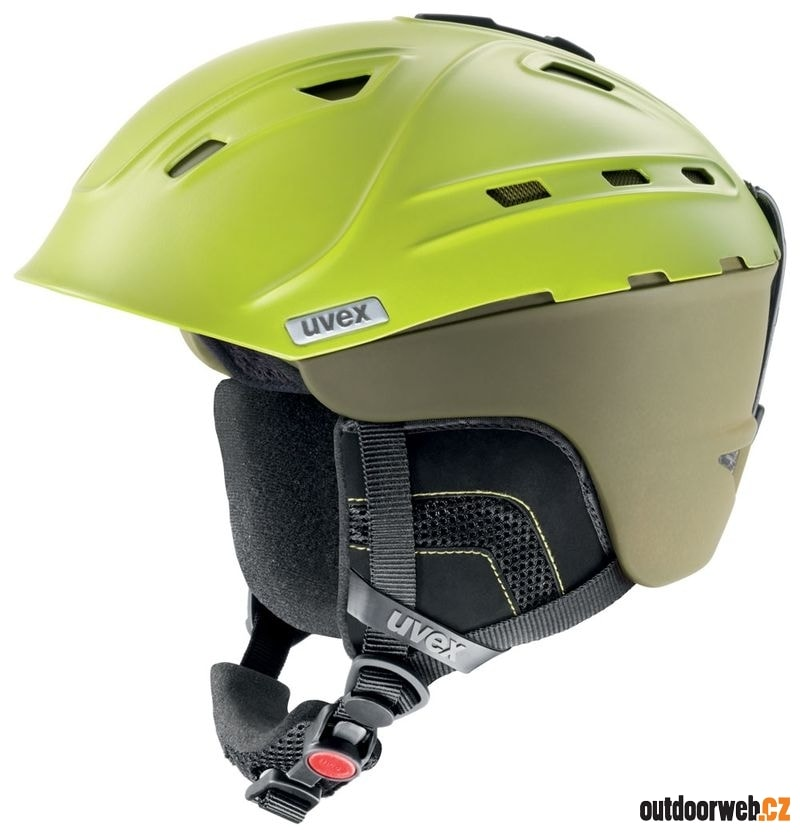 P2US mossy-green mat - UVEX - pánské - helmy 976faa87ba3