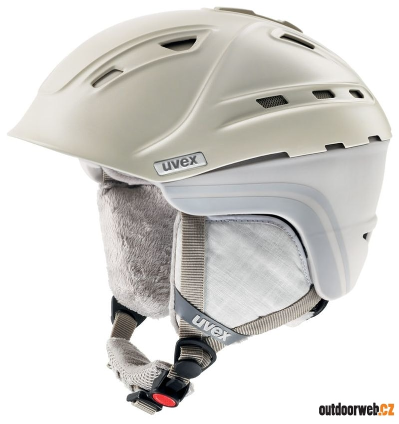 P2US WL creme grey mat - UVEX - dámské - helmy 4a534235a36