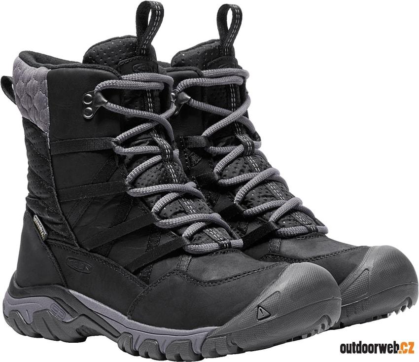 HOODOO III LACE UP W black magnet akce - KEEN - dámské - zimní boty ... 4db168abf94