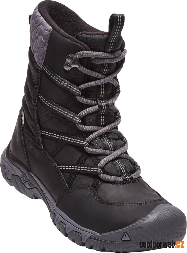 521052b827c HOODOO III LACE UP W black magnet akce - KEEN - dámské - zimní boty ...
