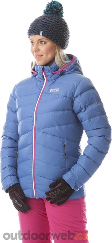 NBWJL5840 PURPOTE modrá nálada - dámská péřová bunda akce ... 94b87256233