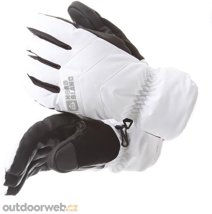 NBWG5977 CRUCIAL bílá akce - NORDBLANC - lyžařské rukavice ... c829b15f08