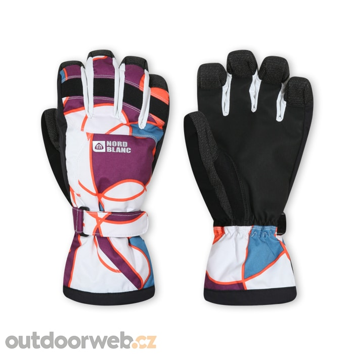59833335815 NORDBLANC NBWG2936 BLO - dámské snowboardové rukavice akce - dámské snowboardové  rukavice