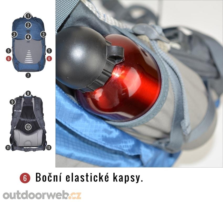 40164166341 Skid 30l modrá - HUSKY - turistické batohy - turistika - 1 590 Kč