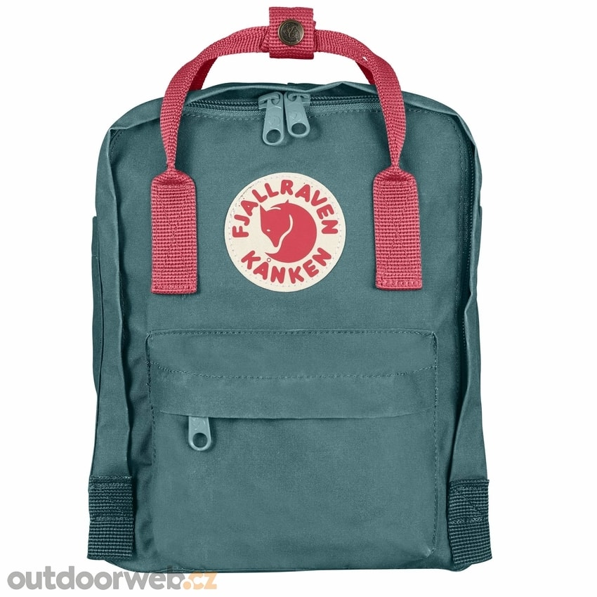 c521266bee6 Kånken 7 Mini Frost Green-Peach Pink - FJÄLLRÄVEN - do města ...