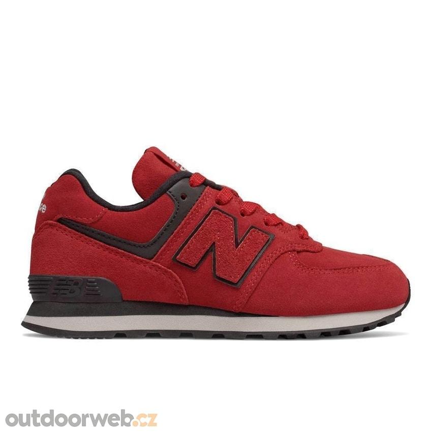 NEW BALANCE GC574EO červená - dětská lifestyle obuv. doprava zdarma  -30%.  GC574EO červená 5fc955f0692