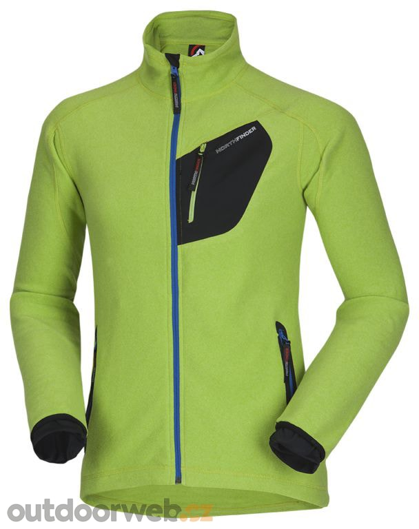 OSTREDOK lime green - NORTHFINDER - pánské - fleece mikiny ... d548401b2e