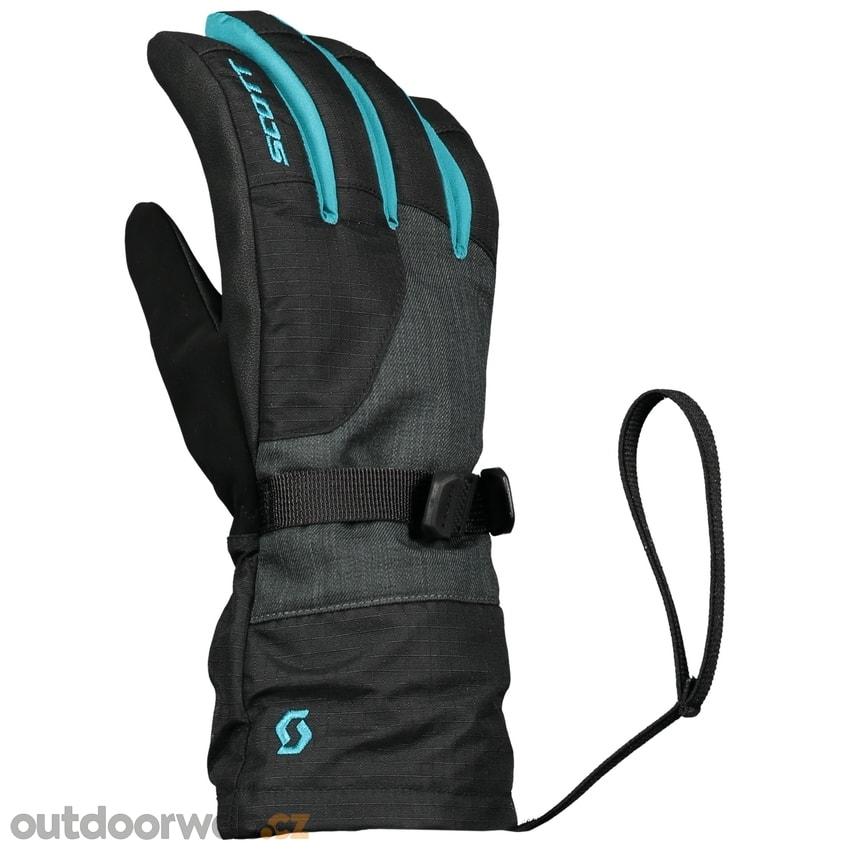 Glove JR Ultimate Premium GTX black marina blue - SCOTT - lyžařské ... b687391574