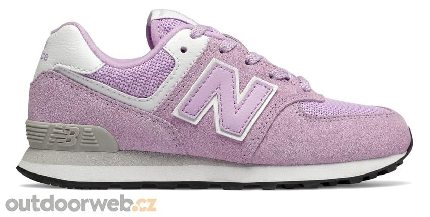 NEW BALANCE GC574EM fialové - dětská lifestyle obuv 5d3114a37a