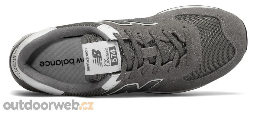 ML574ESN šedé - NEW BALANCE - pánské - tenisky d6d4550c2b