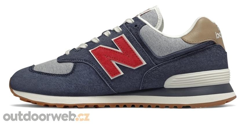 NEW BALANCE ML574PTR modré - pánská lifestyle obuv. doprava zdarma  -10%.  ML574PTR modré 9957fbb5f1