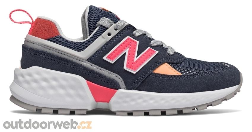 NEW BALANCE PS574SN modré - dětská lifestyle obuv dd00169bc9