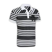 NBFMT2807 GRA - pánské tričko s límečkem pánské tričko s límečkem